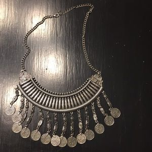 Jewelry - CHUNKY SILVER NECKLACE